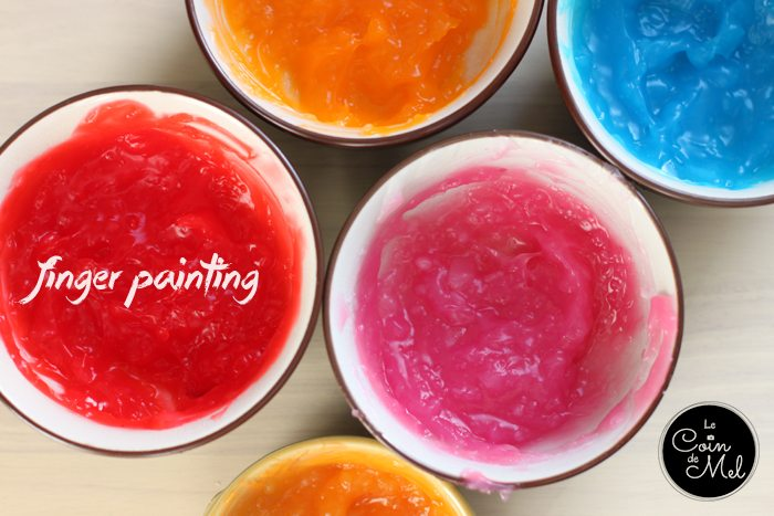 Edible (Gluten Free) Finger Paint