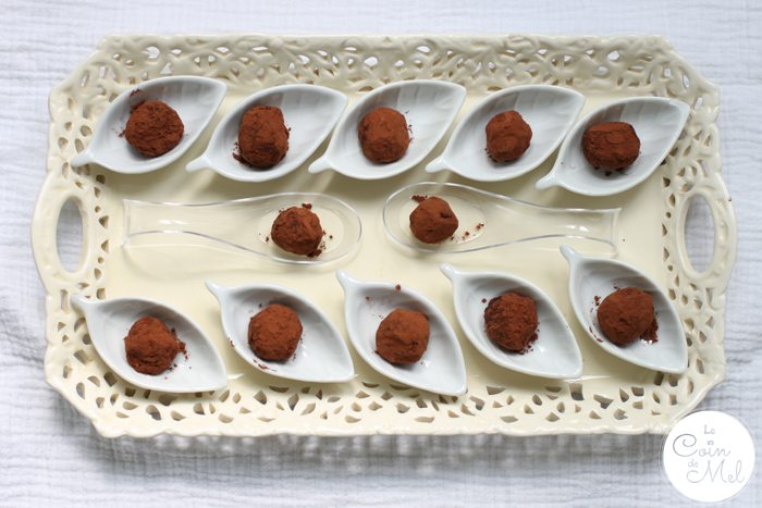 Crickets in Chocolate Truffles