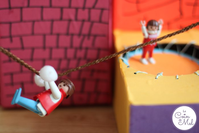 Playmobil Zip Wire and Trampoline