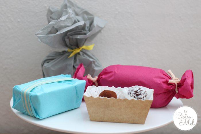 Giving Homemade Truffles as a Present