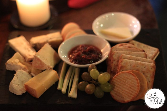 The Nobody Inn - Cheese Platter