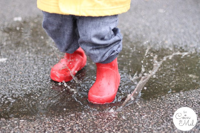 Jumpring in Puddles