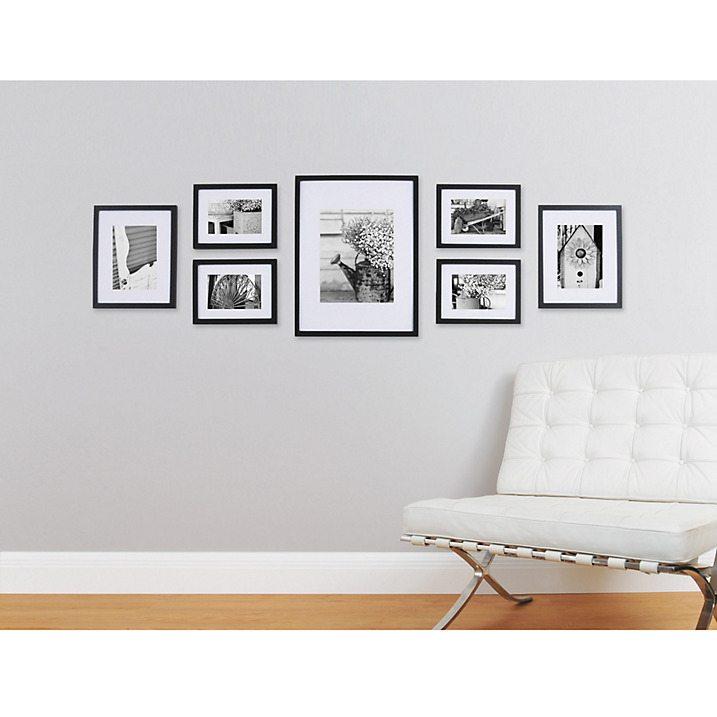 Gallery Perfect Frame Set in Black - John Lewis