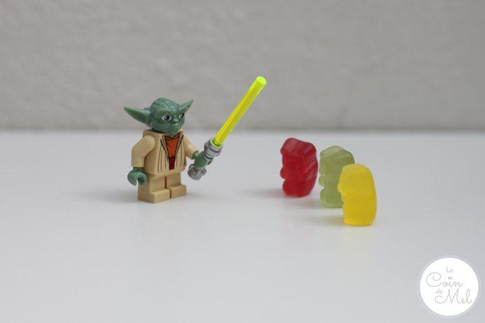 Star Wars, Lego & Sweets - Ewoks getting training with Yoda
