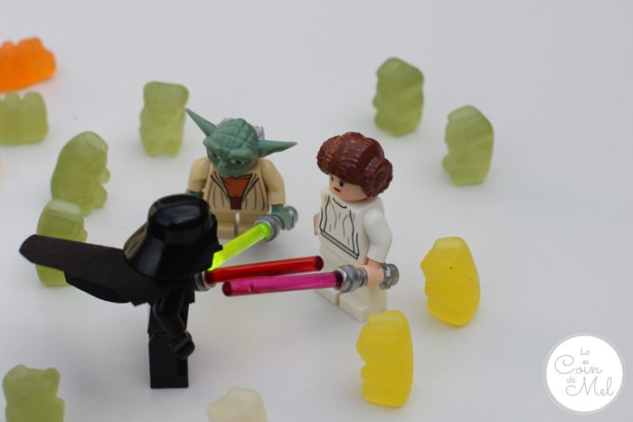 Star War Bears Star Wars Lego Sweets