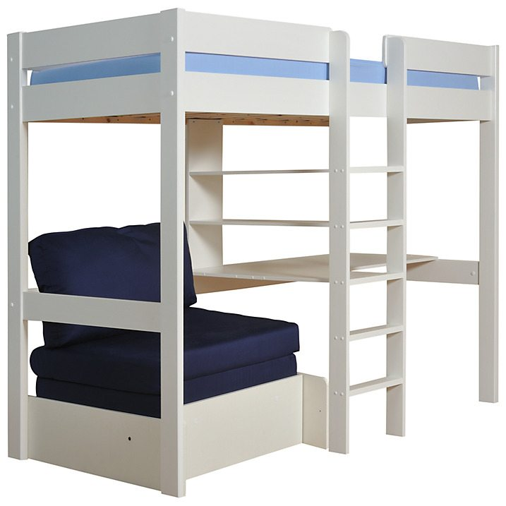 Stompa Uno Plus High Sleeper with Chair Bed and Desk (£799) from John Lewis