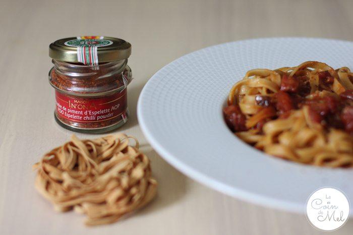 Bonjour French Food Pasta Piment d'Espelette