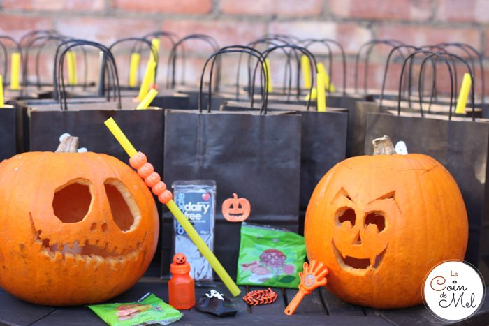 a Halloween Party - Party Bags