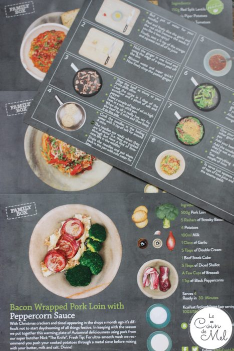 Hello Fresh - Recipe Cards
