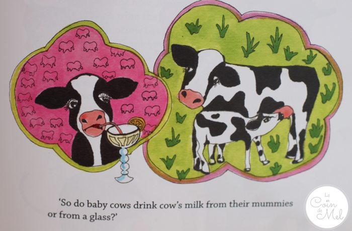 Mummy Makes Milk - Colourful Illustrations