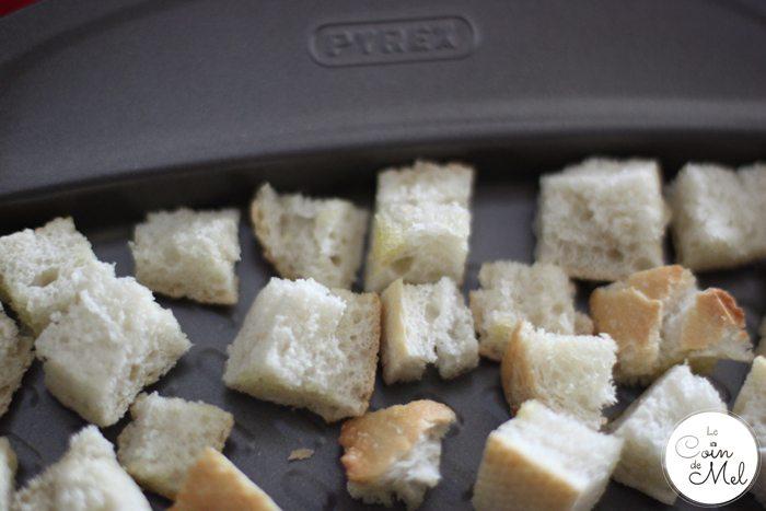 Pyrex Asimetria - baking tray - croutons