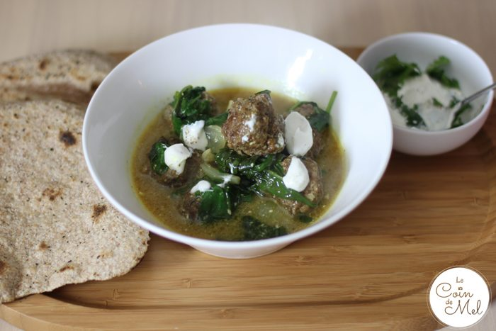 Hello Fresh - Keema Meatball Curry with Homemade Chapatis