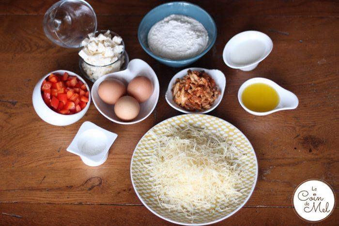 Mackerel Loaf - Ingredients