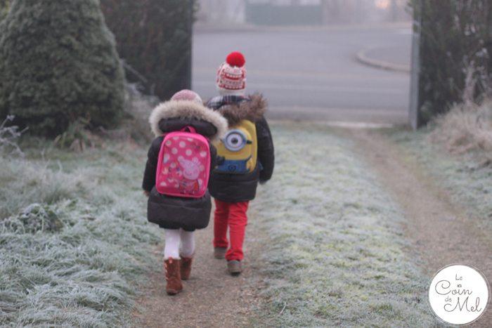 Walking to School in France