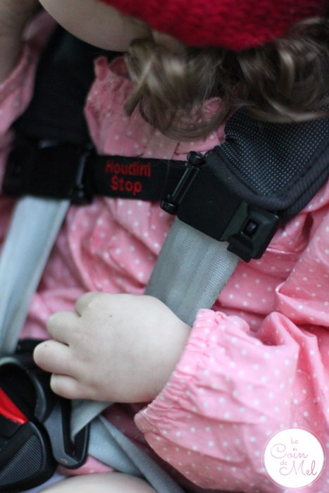 Houdini Solutions - Houdini Stop used to prevent children removing their arms from their harnesses