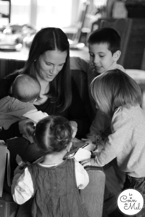 Opening my Birthday Presents with the Little Ones