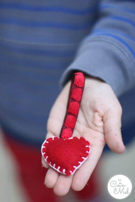 Valentine's Day - 10 Minute Crafts - Felt Heart Ornament