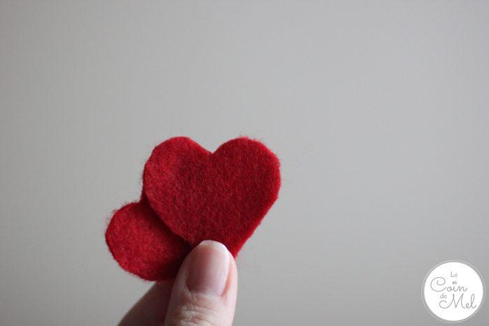 Valentine's Day - 10 Minute Crafts - Felt Hearts