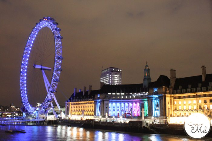 London - The London Eye & the Sealife Centre