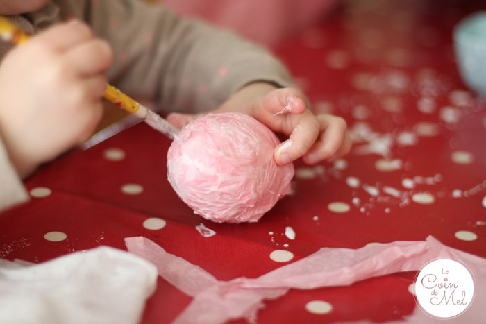 Quick & Easy Toddler Crafts for Spring - Decorating Polystyrene Easter Eggs