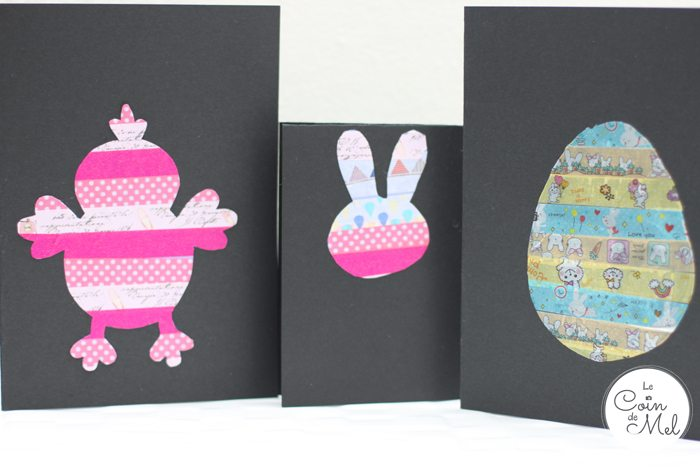 Quick & Washi Tape Cards for Easter and Spring - 10 Minute Crafts