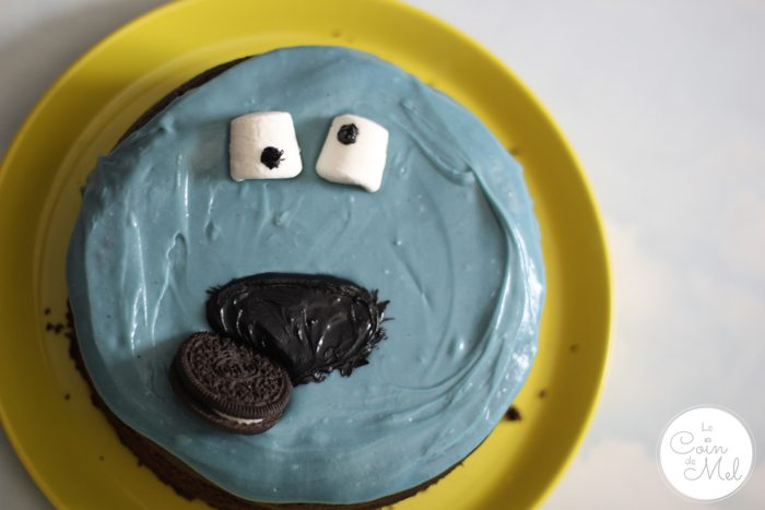 Really Nutty Flourless Chocolate Cake - Cookie Monster Pinfail