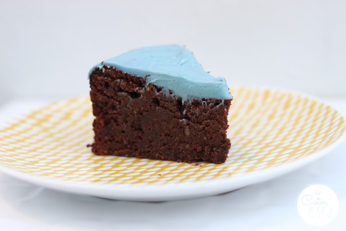 Really Nutty Flourless Chocolate Cake Slice of Heaven