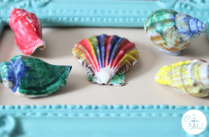 10 Minute Crafts – Seashells Painted with Melted Crayons