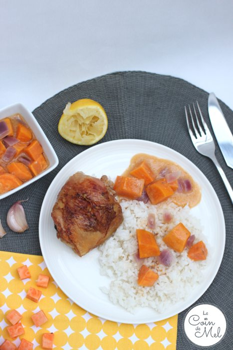 Easy Thai-Style Chicken Thighs - Simple but oh so tasty