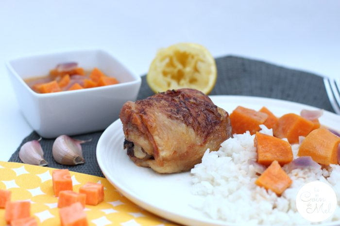 Easy Thai-Style Chicken Thighs - Simple yet Tasty