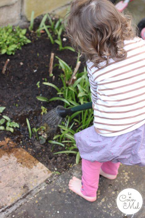 Watering Plants - Happy Toddler