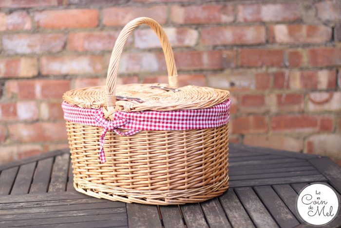 #FreeFromFeast - our gorgeous picnic basket by The Basket Company