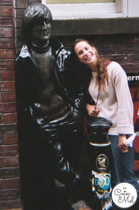 John Lennon Statue - Liverpool