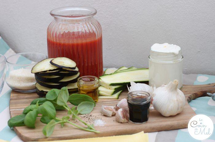 The Best & Simplest Vegetarian Lasagne Recipe Ever - Ingredients