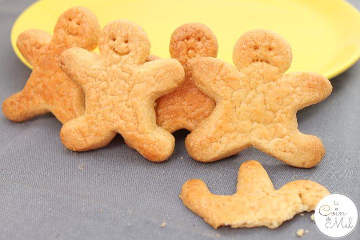 Baking with Kids - Quick & Easy Ginger & Honey Biscuits - Happy Biscuits, Sad Biscuits