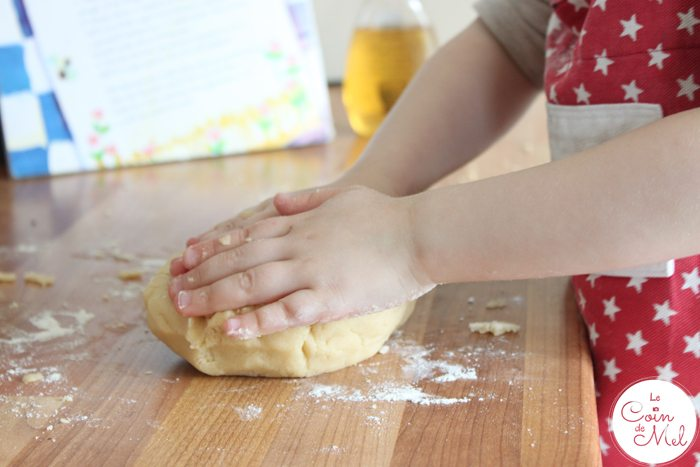 Baking with Kids - Quick & Easy Ginger & Honey Biscuits - Kneading