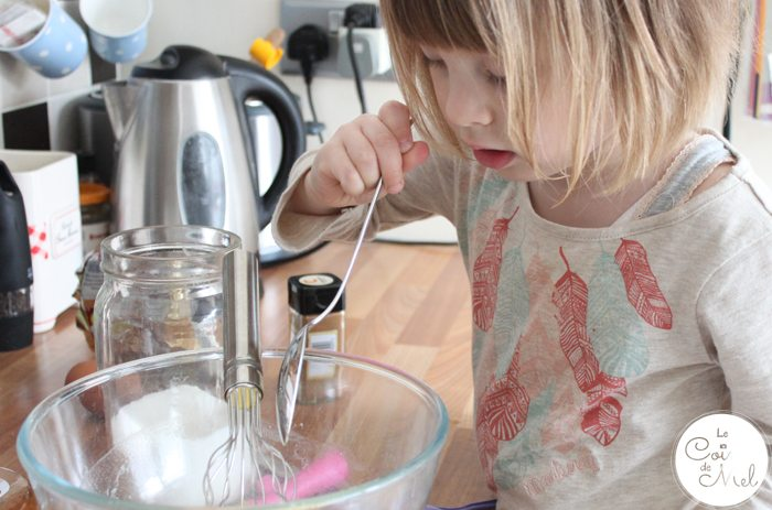 Baking with Kids - Quick & Easy Ginger & Honey Biscuits - Little One in Charge