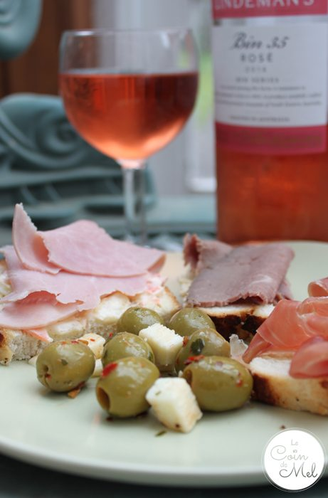 Wine Pairing for Dummies - Rosé and Sharing platter