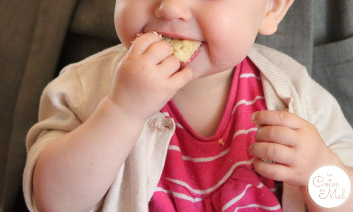 Wriggly Eating her 1st Birthday Cake