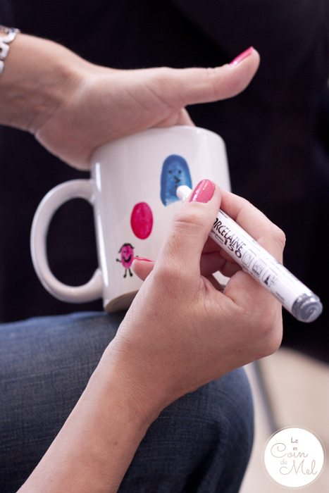10-Minute Crafts - Make your Very Own Cheap Customised Mugs - Fingerpint Art - Drawing Faces