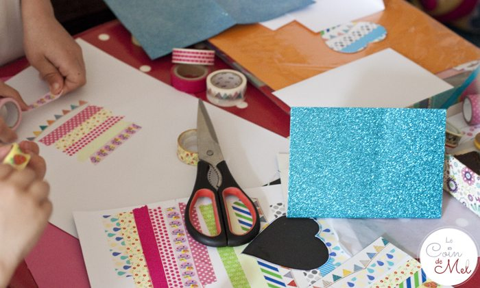 crafts - making cards for teachers