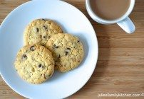 Feature my Food Friday: Introducing Julie's Family Kitchen and her Chocolate & Ginger Cookies Recipe