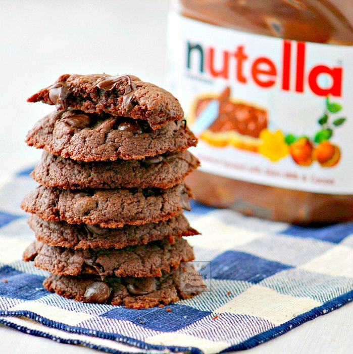 Nutella Cookies by Abby