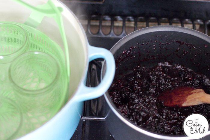 Quick & Easy Blackberry Jam - Cooking & Sterilising