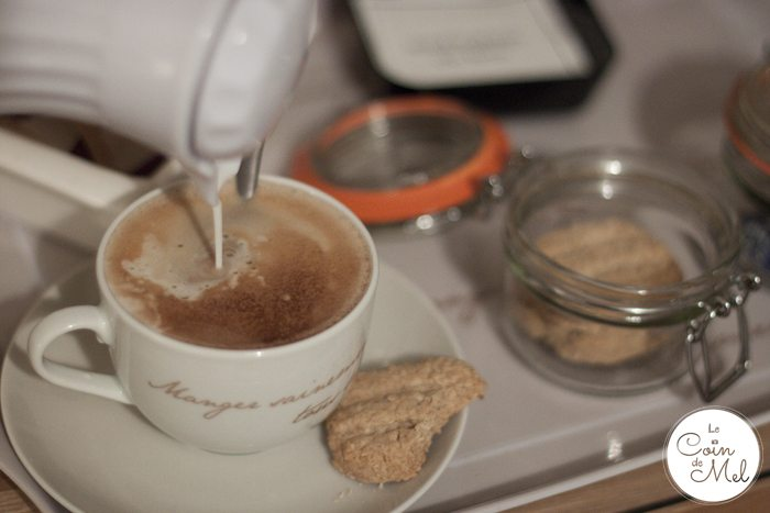 Where to Stay When you go to River Cottage - Prestoller House - Coffee & Biscuits in my Room