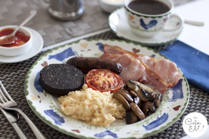 Where to Stay When you go to River Cottage - Prestoller House - Cooked Breakfast