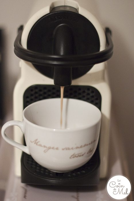 Where to Stay When you go to River Cottage - Prestoller House - Nespresso Machine in my room