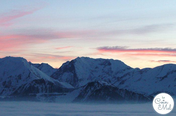 L'Alpe d'Huez at Sunset