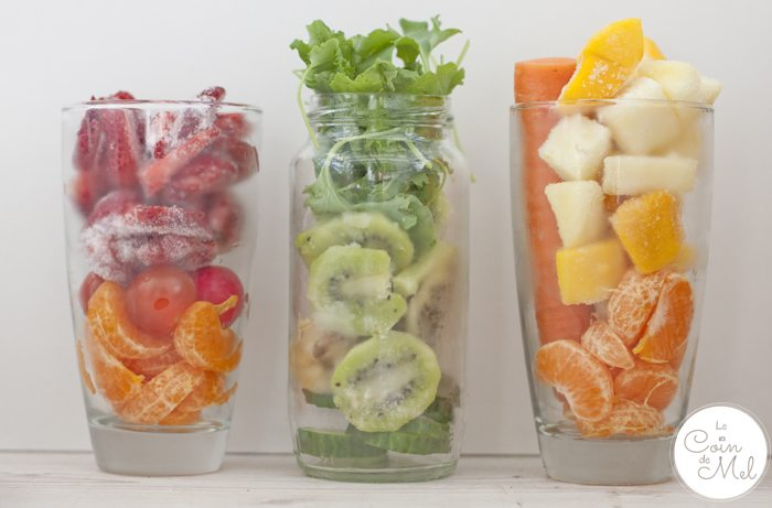 Trio of Smoothies - Healthy, Refreshing, Full of Vitamins