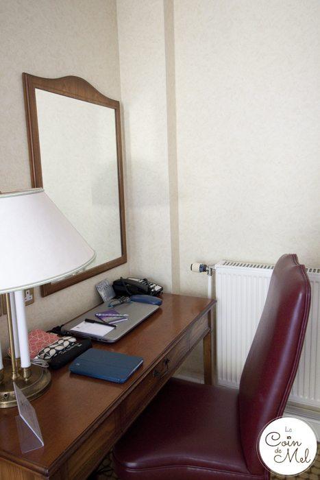 Kingsmills Hotel in Inverness - a Stunning 4 Star Hotel in the Scottish Highlands - Desk